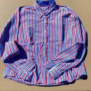 Barbour button-down shirt size 14
